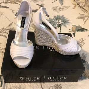 White/Silver Wedges